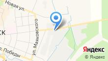Шиномонтажная мастерская на ул. Грибоедова (Кировск) на карте