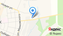 Кировский посад на карте