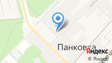 Панковка-Гранит на карте
