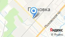 На Объездной на карте