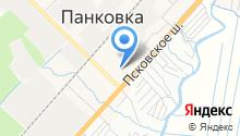 Продовольственный магазин на Индустриальной на карте