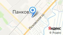 Автостанция в Панковке на карте