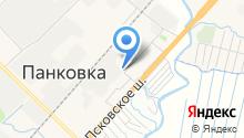 Новгородское на карте