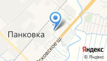 Панковская средняя общеобразовательная школа на карте