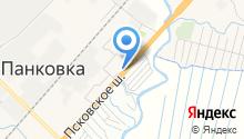 Старорусская мельница на карте