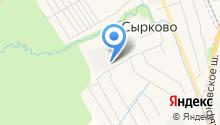 Новгородский домовой на карте