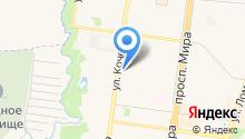 Бутик пенного на карте
