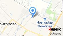 Алло на карте