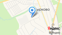 Сырковская врачебная амбулатория на карте