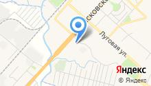 Автомойка на Псковском шоссе на карте