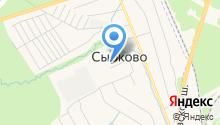 Сырковская средняя общеобразовательная школа на карте