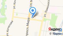 Арбитражный правовой центр на карте