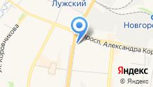Аптека №89 на карте