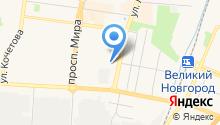 Артишок на карте