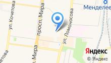 Адаптированная школа-интернат №4 на карте