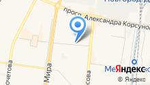 Бирлэнд на карте