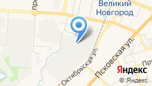 Аварийно-диспетчерская служба тепловых сетей на карте