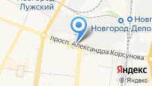 SAZ на карте