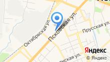 GOLDFISH на карте