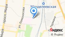 Акрон на карте