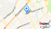 Автоцентр Желябово на карте