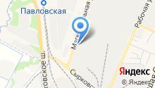 Бетонный завод №1 на карте