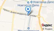 Боровичи-Мебель на карте