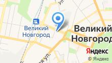 Босфор на карте
