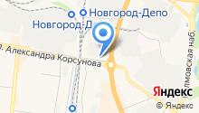 АЗС Авро на карте