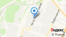 Новгородский таможенный пост на карте