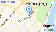 1 отряд ФПС по Новгородской области, ФГКУ на карте