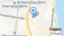 WURTH на карте