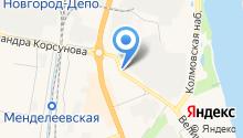 Адвокатский кабинет Булановой С.В. на карте