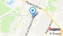 Автопластик на карте