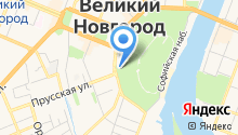 VisitNovgorod на карте