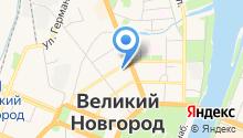 Административная комиссия муниципального образования-городского округа Великий Новгород на карте