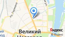 Адвокатский кабинет Егорова С.В. на карте