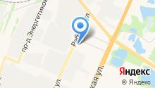 Аквафортуна на карте