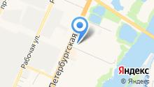 Адвокатский кабинет Писарева М.Н. на карте