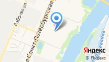 Алькор на карте