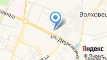 Астролинк на карте