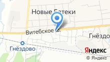 АВТОЗАПЧАСТИ-67 на карте