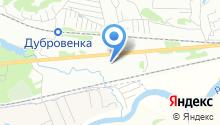 Автофарватер на карте