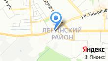 АвтоКорт, сеть магазинов автозапчастей для ВАЗ на карте