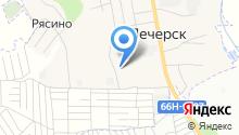 Крумис-Лес на карте