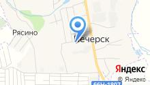 Бетонофф на карте