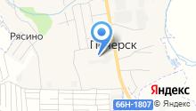 СмолИнжСтрой, ЗАО на карте