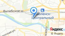 Divantex на карте