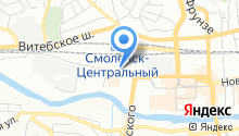 Автозапчасти на карте