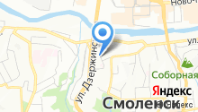 Smolcity.ru на карте